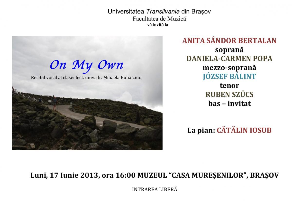17 iunie 2013 recital poster-1